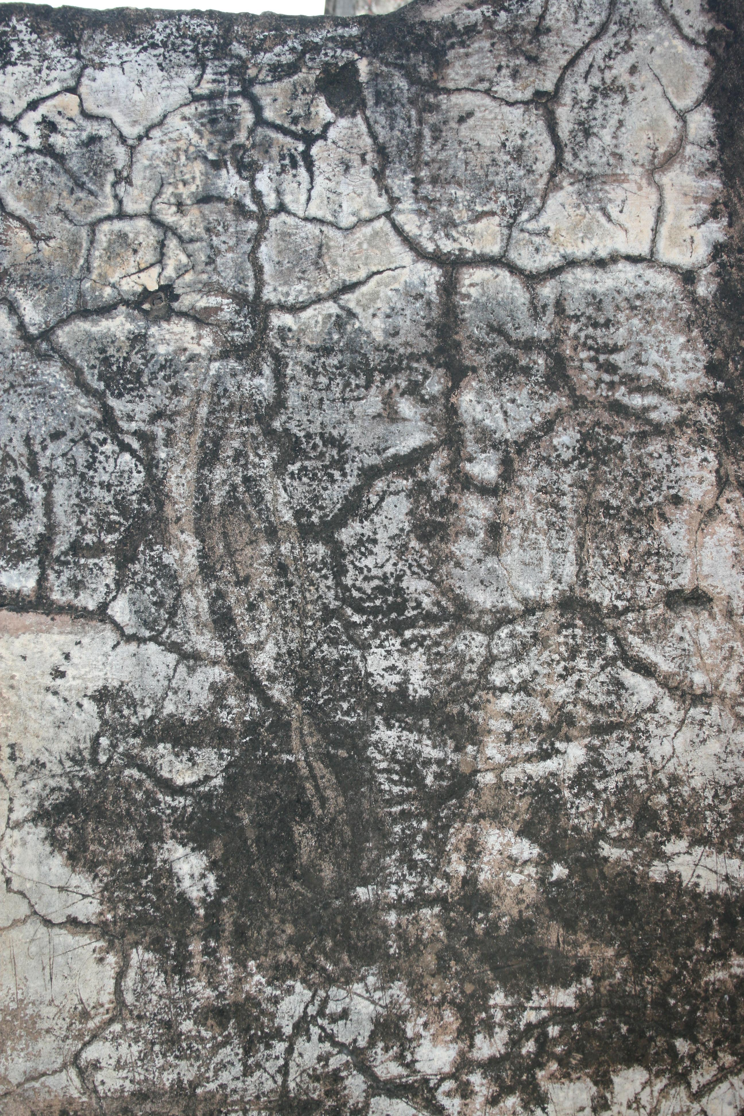 Natural Aging of the Stone Temple Wall