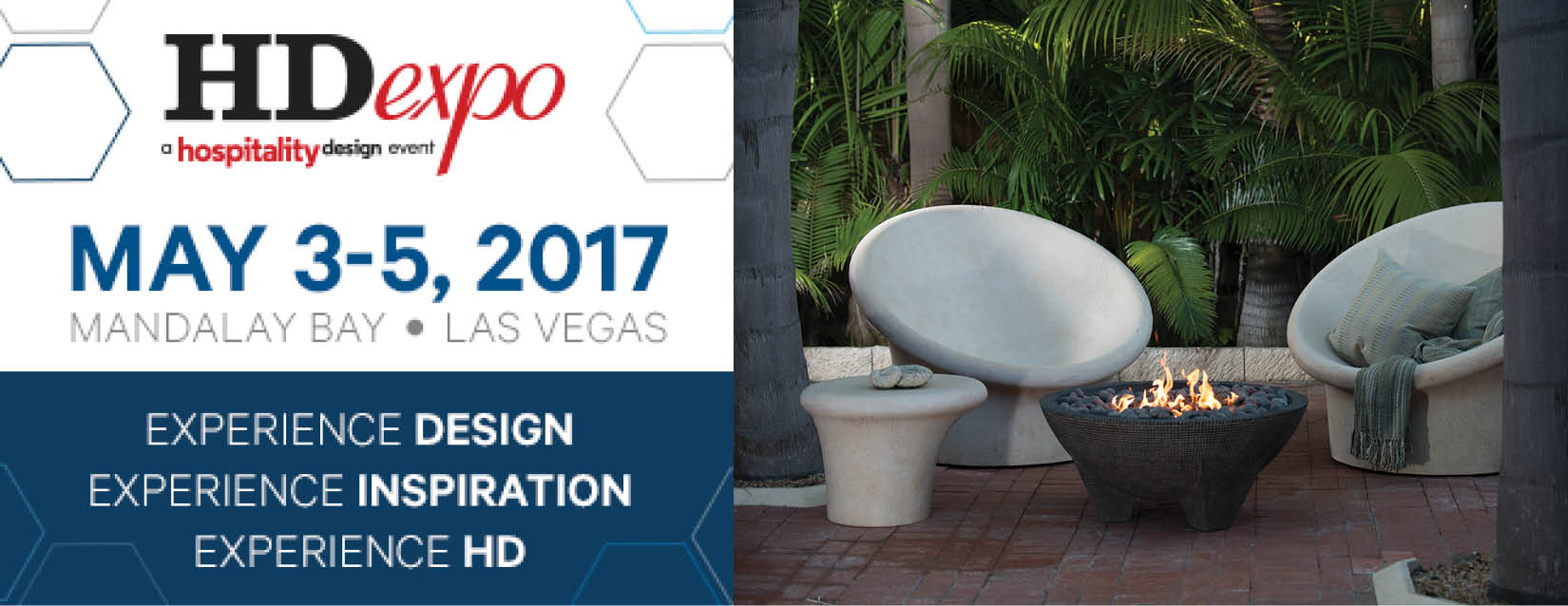 Join Us at the HD Expo Hospitality Design Event in May!
