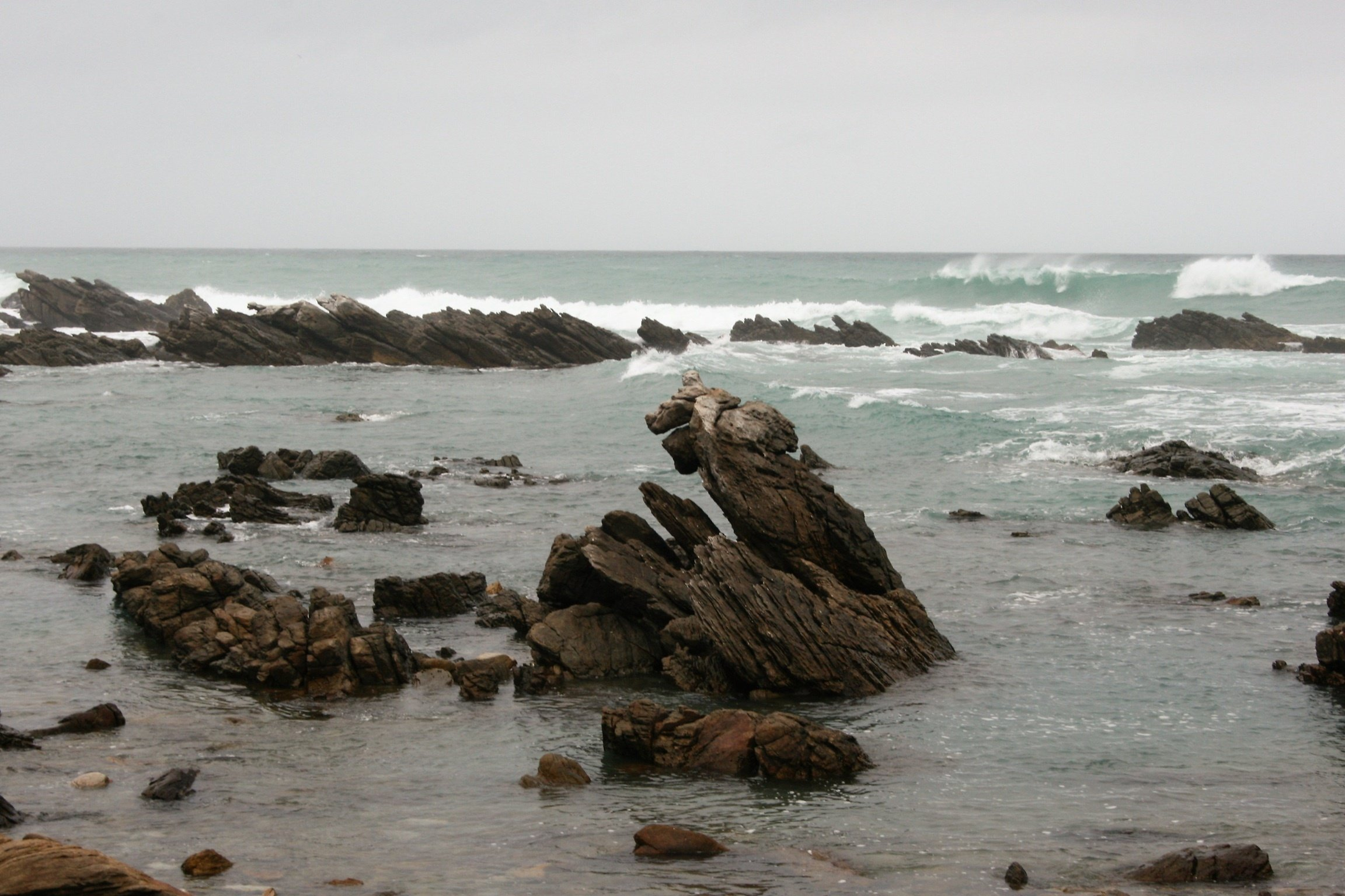 Rock Formations on the South African Coast