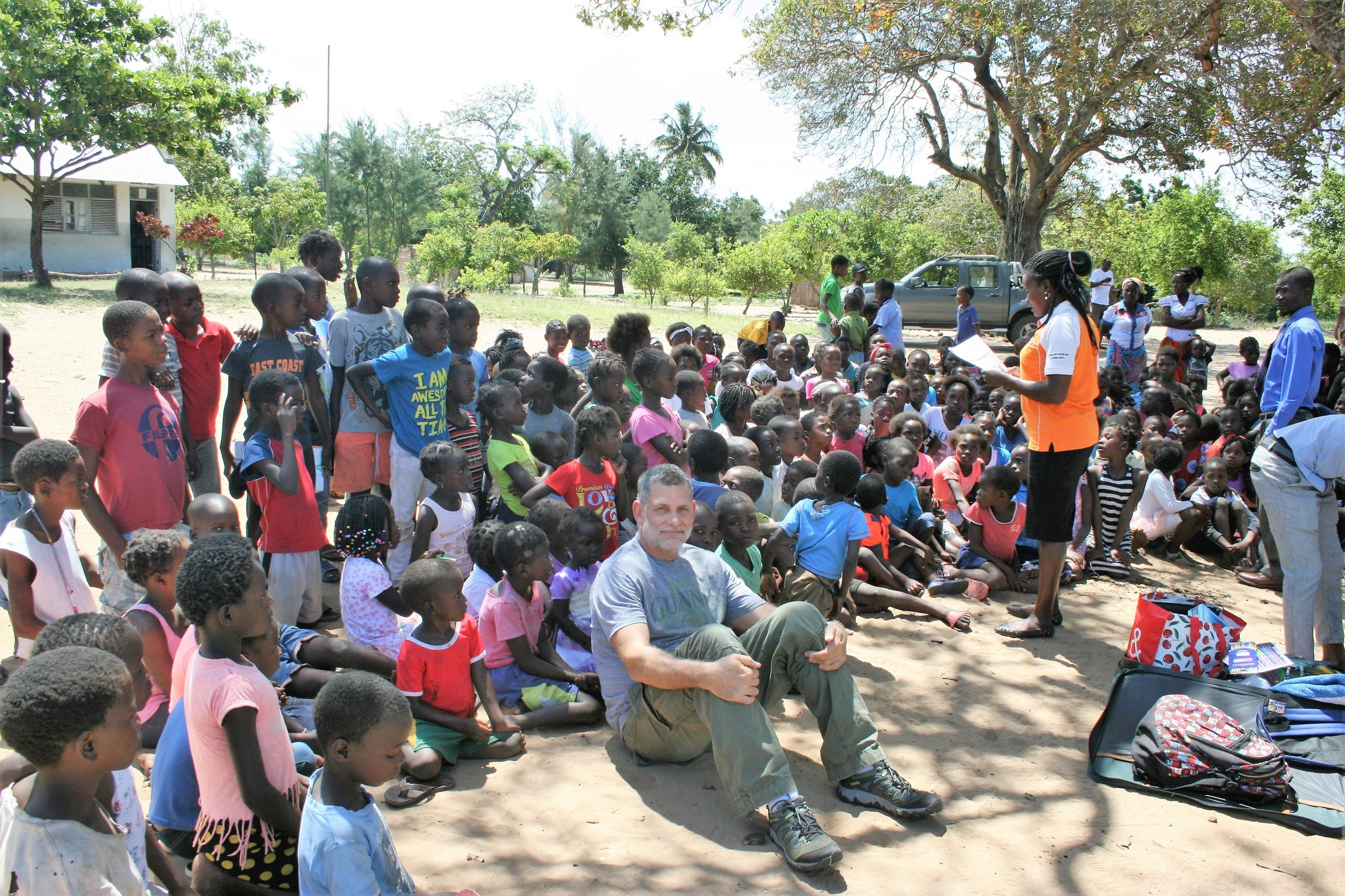 Making Friends in Mozambique