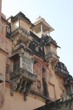 Temple Balcony