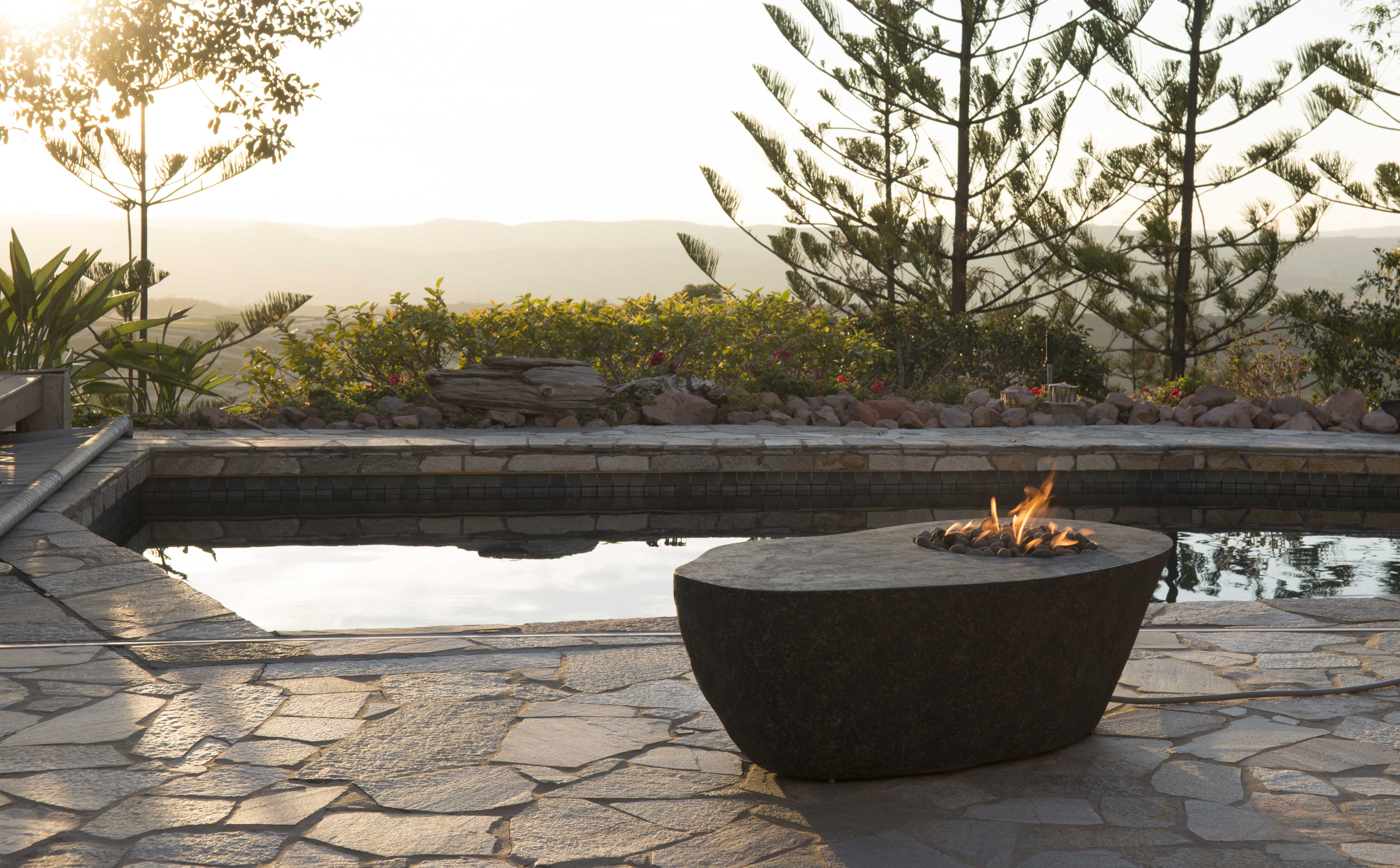 Boulder Fire Table